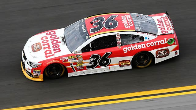 JJ Yeley Golden Corral